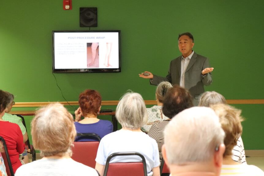 Dr. Kim Of Core Medical Wellness Giving The 55 KIP Seminar Presentation