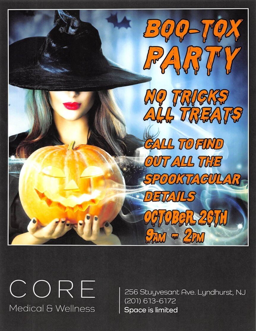 Botox Event for Halloween