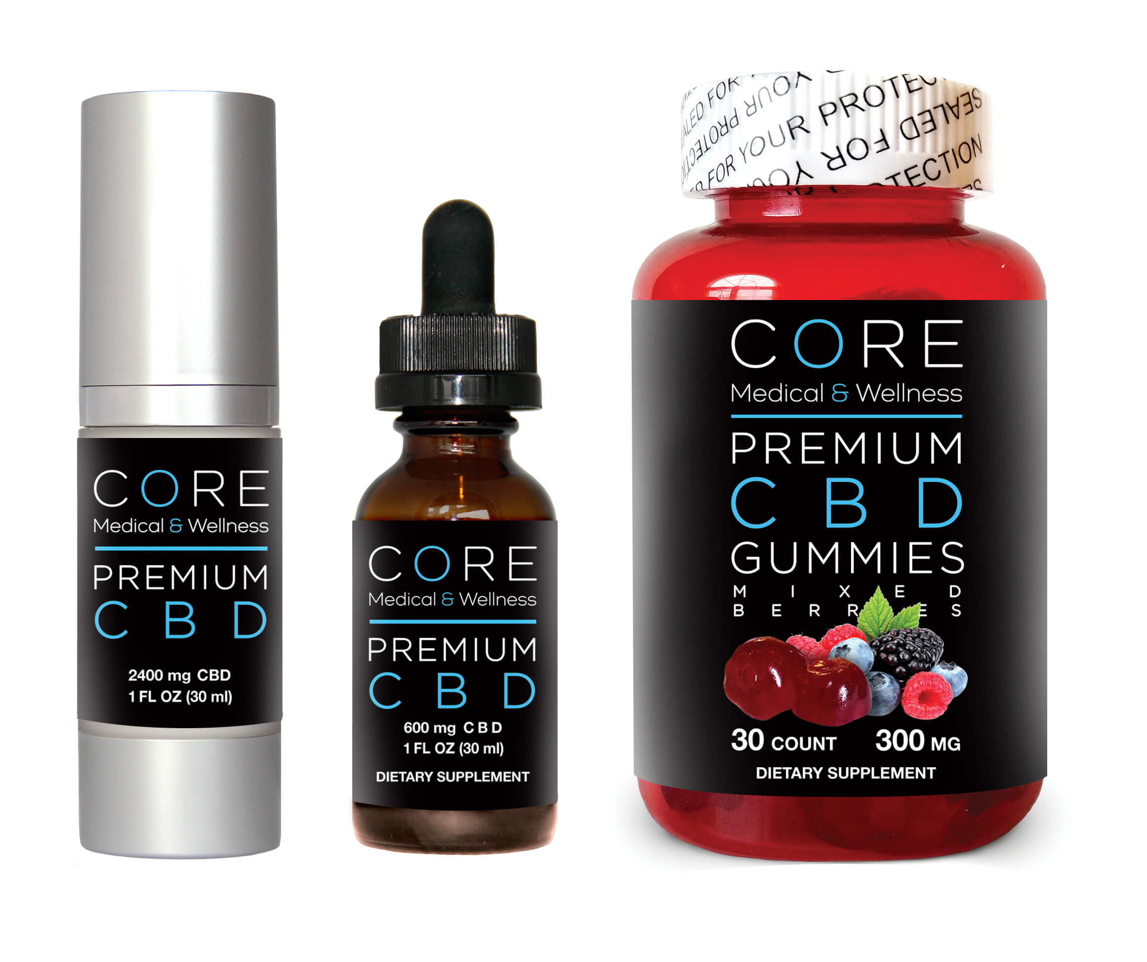 CBD Products Available At Core Medical & Wellness
