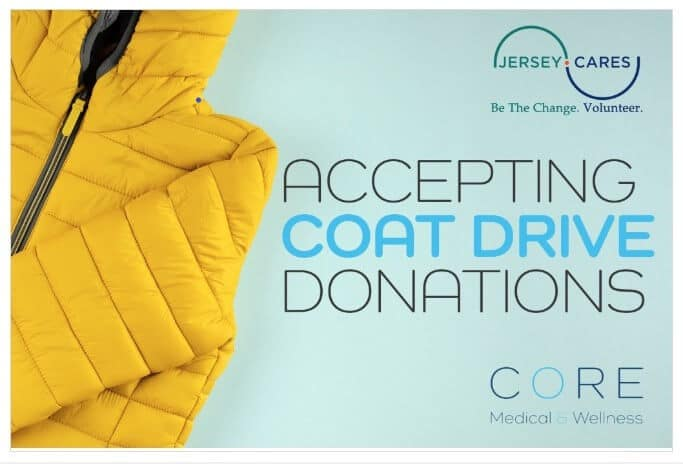 Jersey Cares Coat Drive Drop Off Location Core Medical